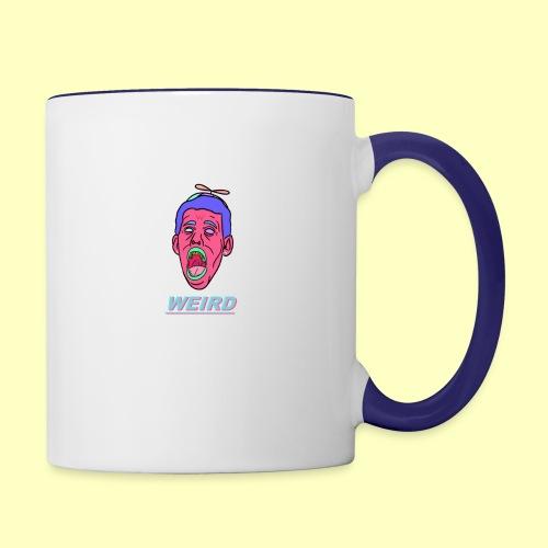 WEIRD - Contrast Coffee Mug