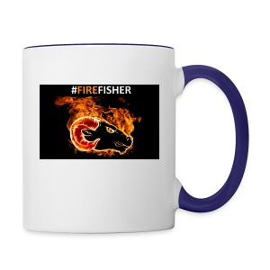 Fire_Fisher - Contrast Coffee Mug