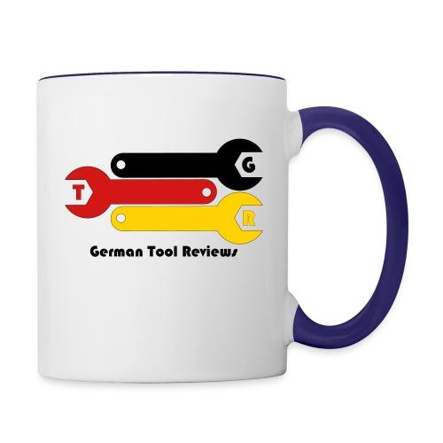 GTR Official Logo - Small - Contrast Coffee Mug