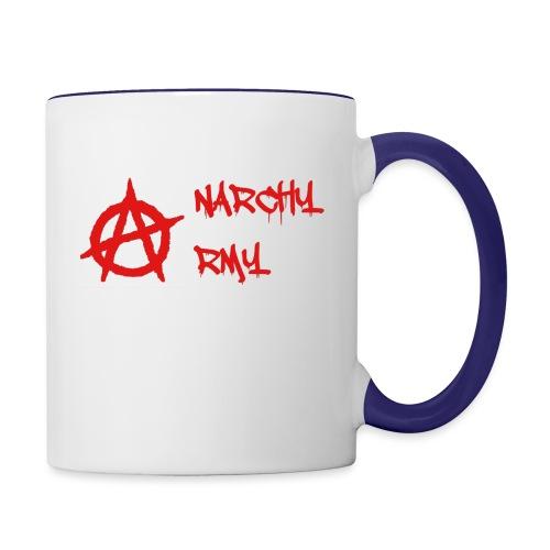 Anarchy Army LOGO - Contrast Coffee Mug