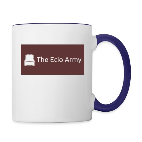 Limited Ecio Army t-shirt - Contrast Coffee Mug