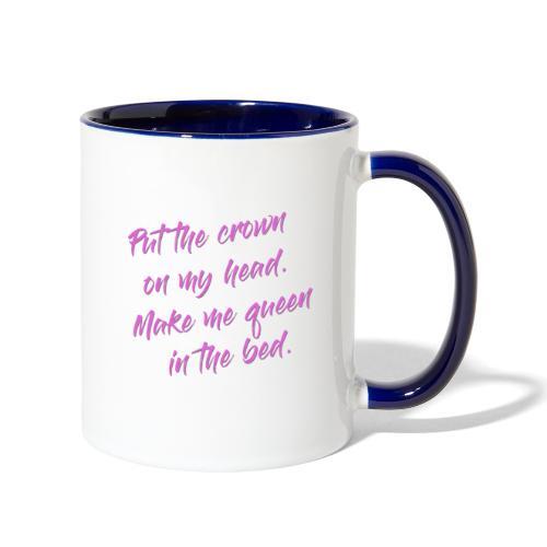 Melissa Otero Aphrodisiac Lyrics - Contrast Coffee Mug