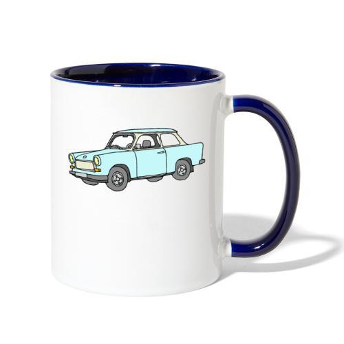 Trabant (lightblue) - Contrast Coffee Mug