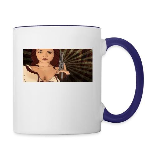 jjj copy png - Contrast Coffee Mug