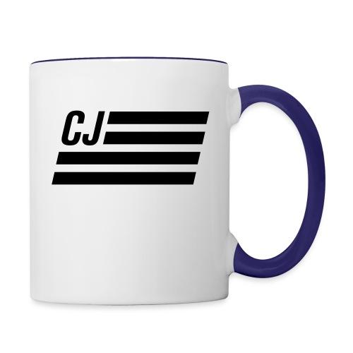 CJ flag - Autonaut.com - Contrast Coffee Mug
