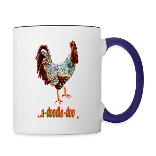 A Doodle Doo - Contrast Coffee Mug
