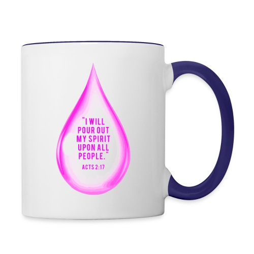 The Pour - Contrast Coffee Mug