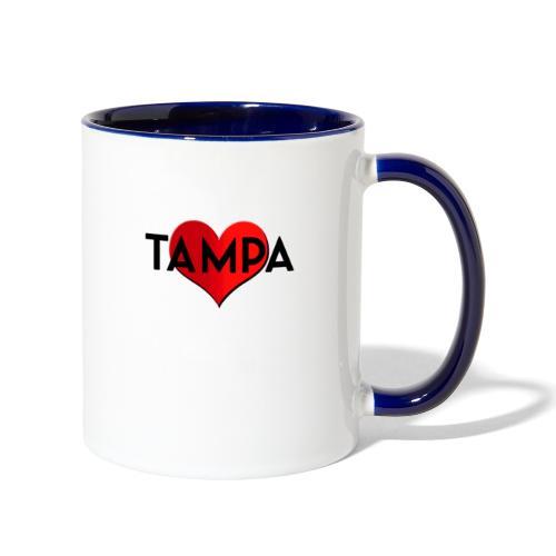 Tampa Love - Contrast Coffee Mug