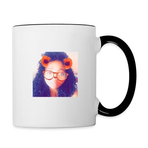 Just a face - Contrast Coffee Mug