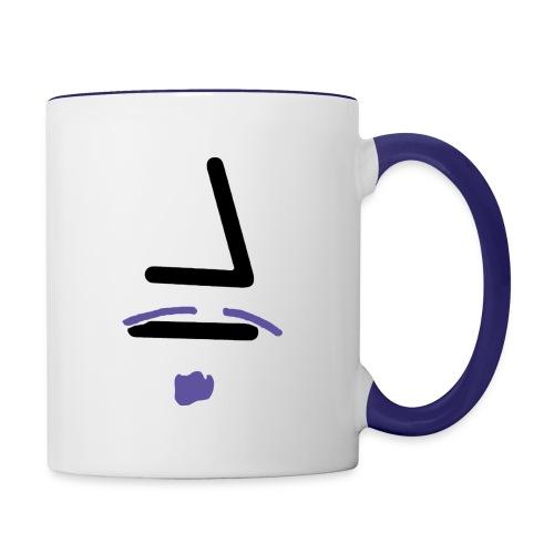 Neville Percival Croft Face - Contrast Coffee Mug