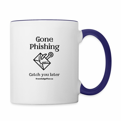 Gone Phishing - Contrast Coffee Mug
