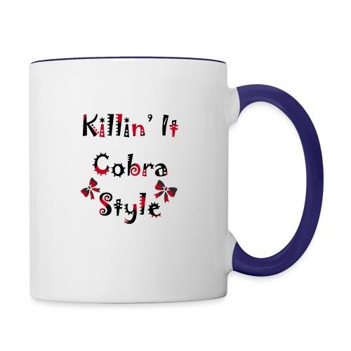 Killin' It Cobra - Contrast Coffee Mug