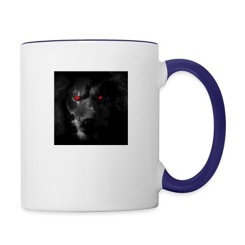 Black ye - Contrast Coffee Mug