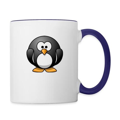 Funny Penguin T-Shirt - Contrast Coffee Mug
