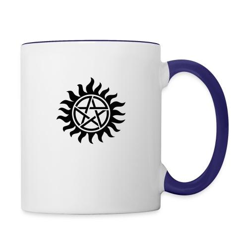 Supernatural Tattoo - Contrast Coffee Mug