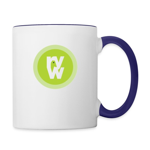 Recover Your Warrior Merch! Walk the talk! - Contrast Coffee Mug