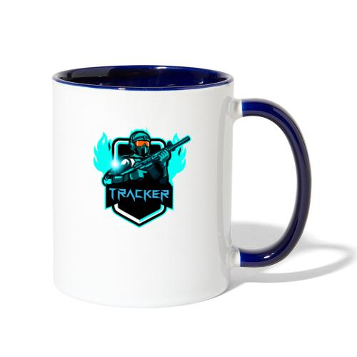 TrackerYT Merch - Contrast Coffee Mug
