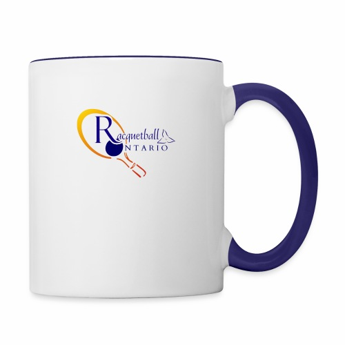 Racquetball Ontario branded products - Contrast Coffee Mug