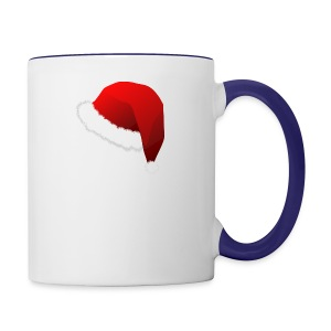 Carmaa Santa Hat Christmas Apparel - Contrast Coffee Mug