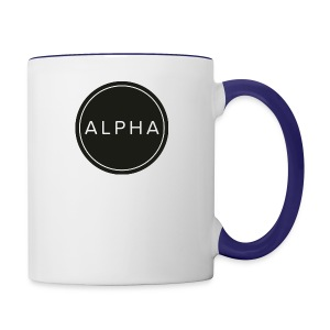 alpha team fitness - Contrast Coffee Mug