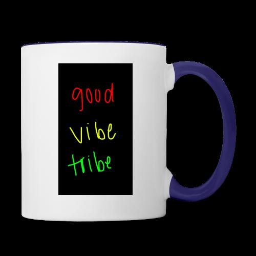 good vibe tribe - Contrast Coffee Mug
