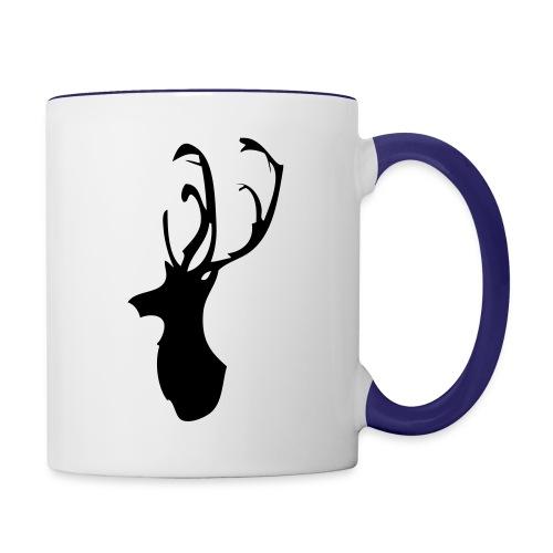 Mesanbrau Stag logo - Contrast Coffee Mug