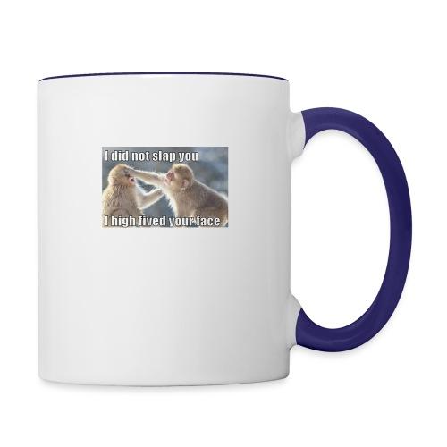 funny animal memes shirt - Contrast Coffee Mug