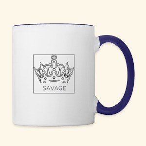 Savage Crown - Contrast Coffee Mug