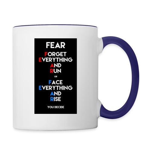 Fear - Contrast Coffee Mug