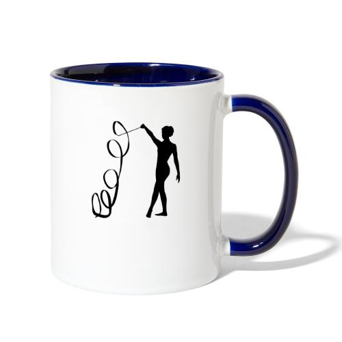 Rythmic Figure 1 - Contrast Coffee Mug