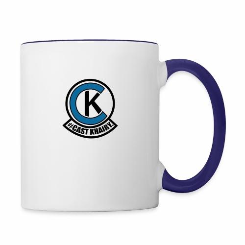 #CastKhairy - Contrast Coffee Mug