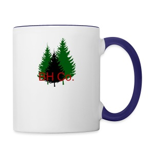 EVERGREEN LOGO - Contrast Coffee Mug