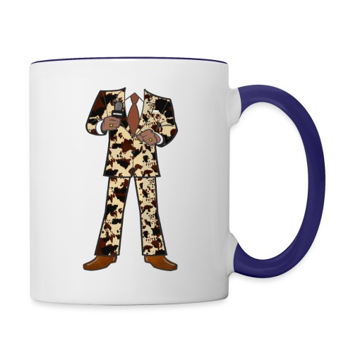 The Classic Cow Suit - Contrast Coffee Mug