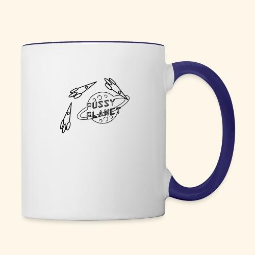 Planet - Contrast Coffee Mug