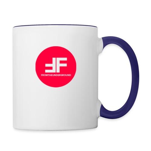 This is the underGround - Contrast Coffee Mug