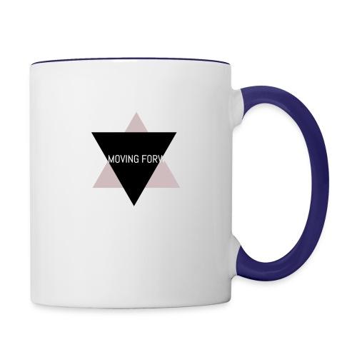 Keep Moving Forward - Contrast Coffee Mug