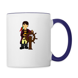 Alex the Great - Pirate - Contrast Coffee Mug