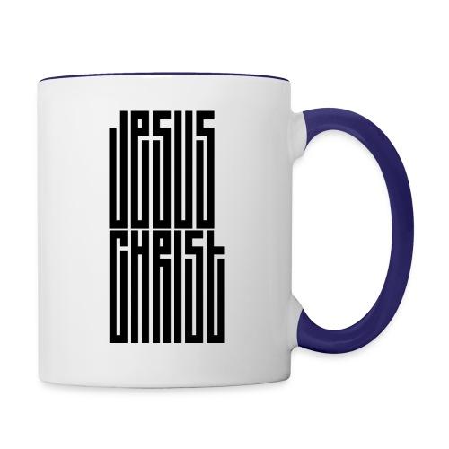 Jesus Christ - Contrast Coffee Mug