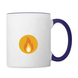 Flame (For cases and Cups) - Contrast Coffee Mug