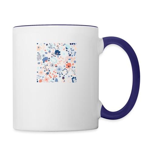 flowers - Contrast Coffee Mug
