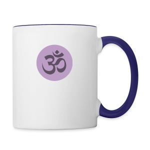 om - Contrast Coffee Mug