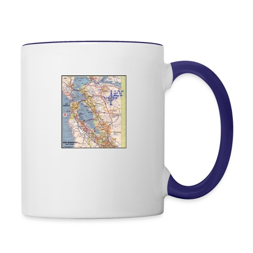 Phillips 66 Zodiac Killer Map June 26 - Contrast Coffee Mug