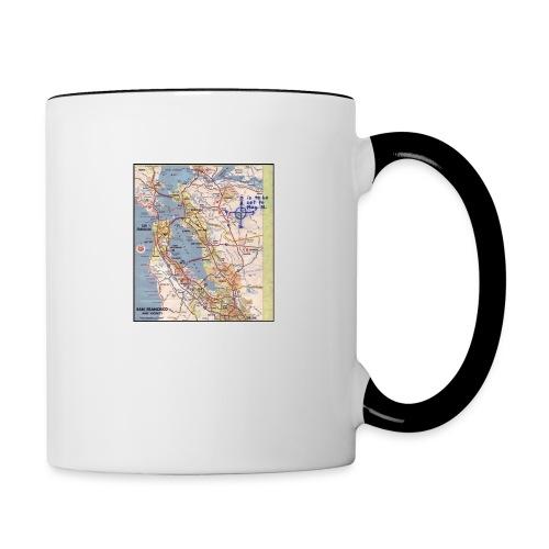 Phillips 66 Zodiac Killer Map June 26 - Contrast Coffee Mug