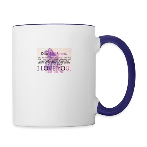 Cute best friends - Contrast Coffee Mug