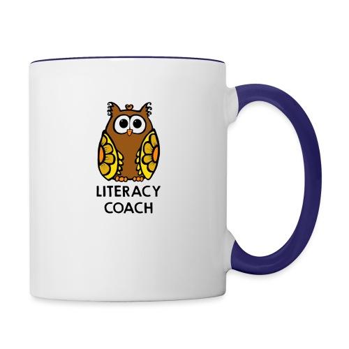literacy coach png - Contrast Coffee Mug