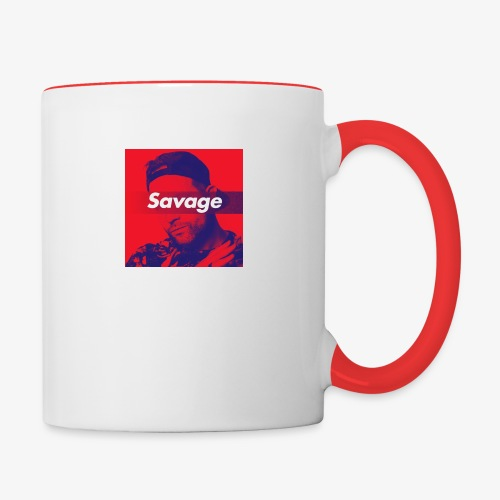 Savage - Contrast Coffee Mug
