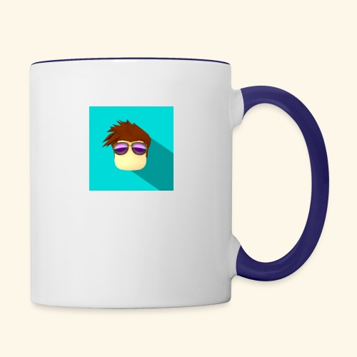 NixVidz Youtube logo - Contrast Coffee Mug