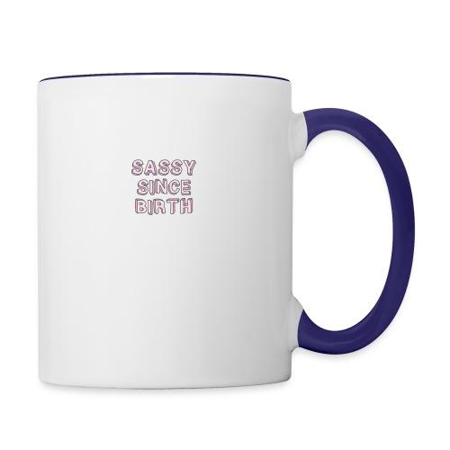 Sassy - Contrast Coffee Mug