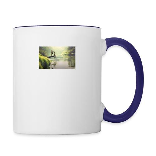fishing - Contrast Coffee Mug
