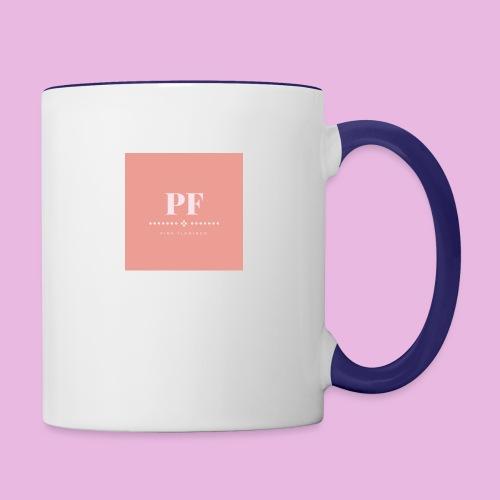 Pink Flamingo - Contrast Coffee Mug